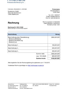 das beispiel von rechnungsvorlagen kostenlos  rechnungsvorlage für jeden zweck rechnungsvorlage für dienstleistung excel