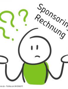 das beispiel von sponsoringrechnung schreiben  was ist zu beachten? sponsoring rechnung vorlage pdf