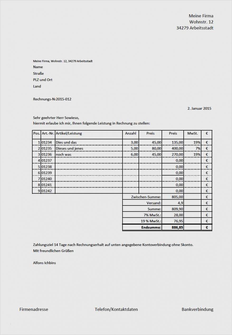 bearbeitbar von elegant vorlage rechnung ohne umsatzsteuer solche können rechnung ohne mwst vorlage doc