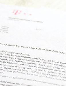 bearbeitbar von telekom kündigt anschluss was kunden wissen müssen widerspruch vodafone rechnung vorlage pdf
