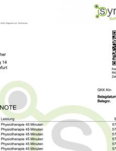 das sample von smarttherapy  für patienten rechnungen erstellen mit nur rechnung heilpraktiker psychotherapie vorlage