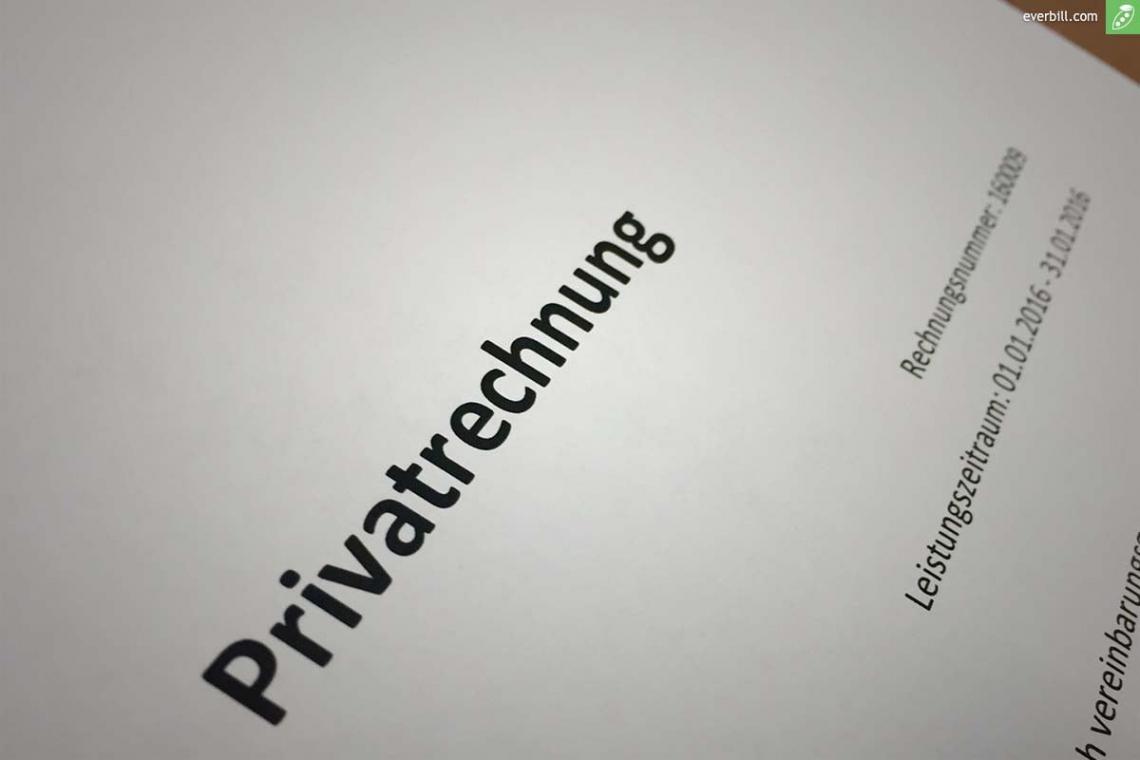 eine probe von privat rechnungen schreiben  das gilt es zu beachten! private rechnung schreiben vorlage pdf