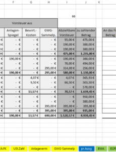 bearbeitbar von excelvorlageeinnahmenüberschussrechnung eür 2015 einnahmen überschuss rechnung verein vorlage pdf