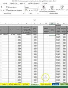 das beispiel von einführung excelvorlageeinnahmenüberschussrechnung eür einnahmen überschuss rechnung vorlage kleinunternehmer doc
