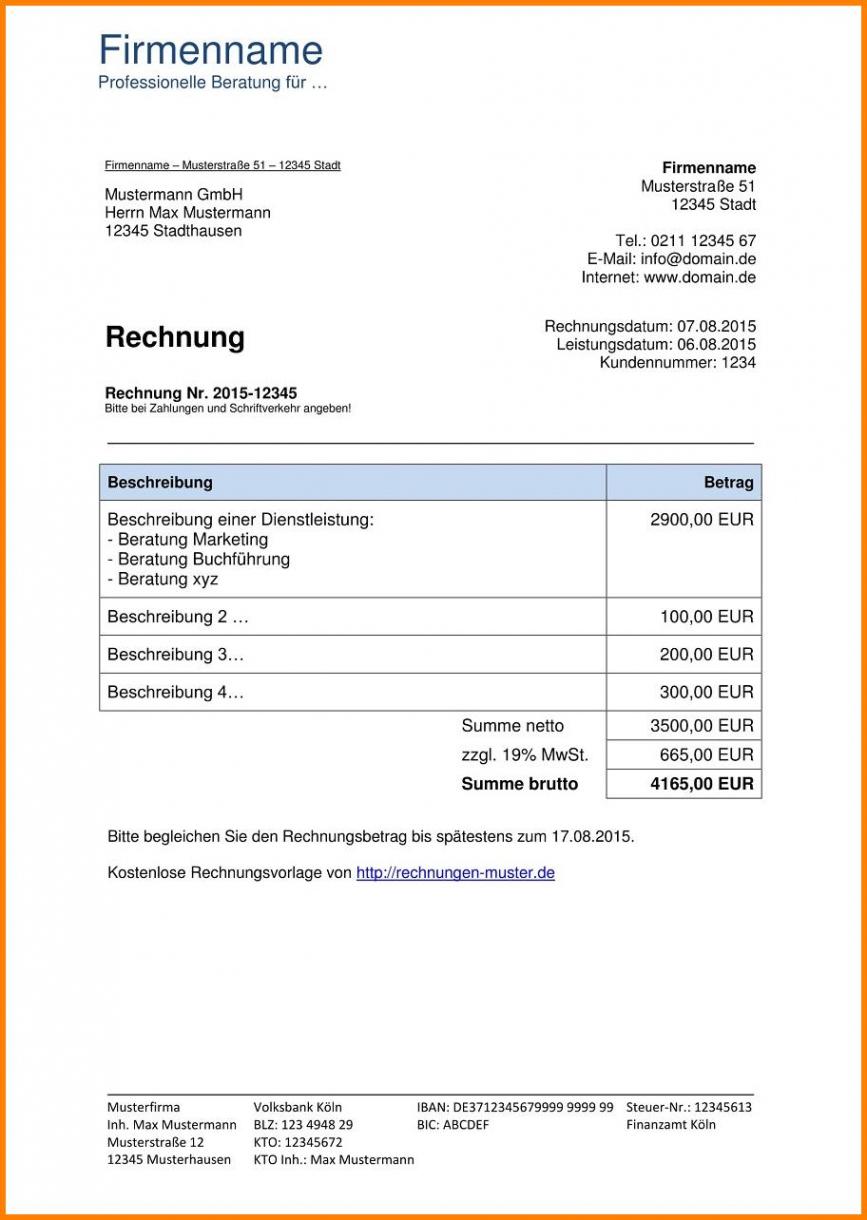 das beispiel von rechnung vorlage  goodeveninghotel kumulierte rechnung vorlage pdf