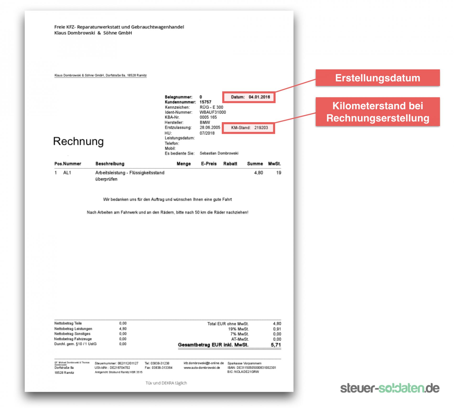 das sample von fahrtkosten rechnung muster zur ckweisung rechnung berh hte rechnung fahrtkosten vorlage doc