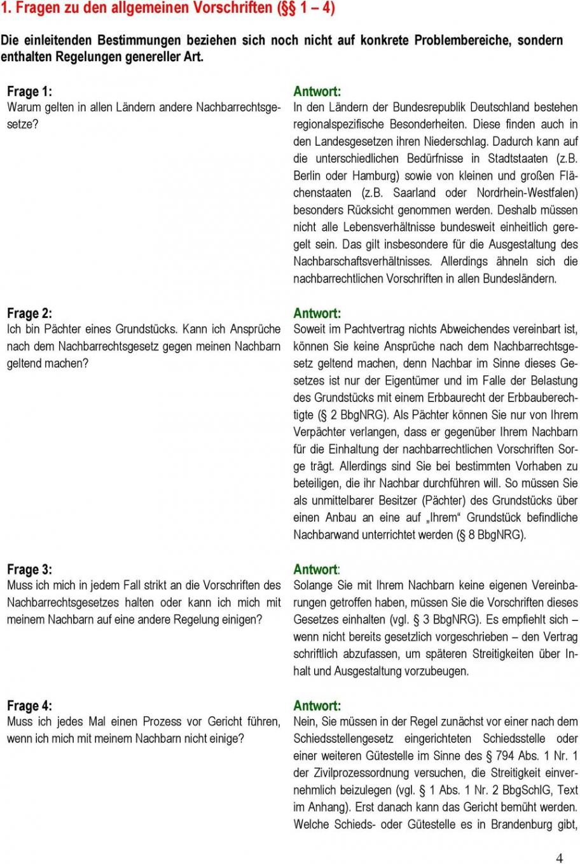 druckbar von auf gute nachbarschaft  pdf kostenfreier download vereinbarung nachbar grenzbebauung vorlage pdf