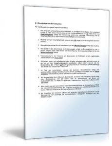 druckbar von betriebsvereinbarung bonussystem  mustervorlage zum download vereinbarung über einen vorschuss pdf