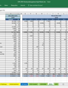 druckbar von excelvorlageeinnahmenüberschussrechnung eür » pierre tunger einnahmen überschuss rechnung verein vorlage pdf