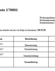 eine probe von honorarnote österreich konform stellen  everbill magazin gewerbeschein rechnung vorlage pdf
