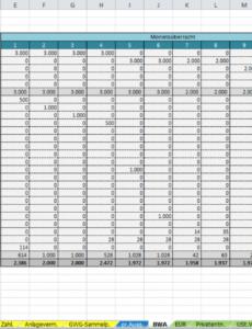 eine probe von excelvorlageeinnahmenüberschussrechnung eür 2013 vorlage einnahmen überschuss rechnung excel