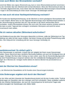 Beispiel Kündigung Gasanbieter Vorlage PDF Bearbeitbar