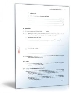 Kündigung Aushilfe Vorlage Excel Frei