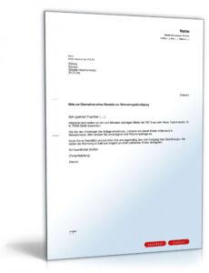 Anwalt Kündigen Vorlage PDF Druckfähig