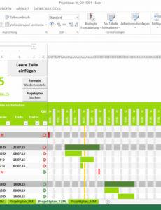 Beispiel Kostenplan Projektmanagement Vorlage  Kostenlos