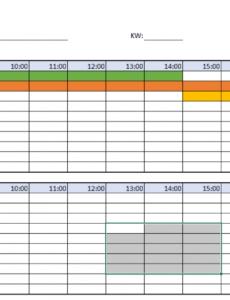 Bild Dienstplan Krankenhaus Vorlage Excel