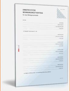 Sampler Bürgschaft Wg Eltern Vorlage Excel Druckfähig