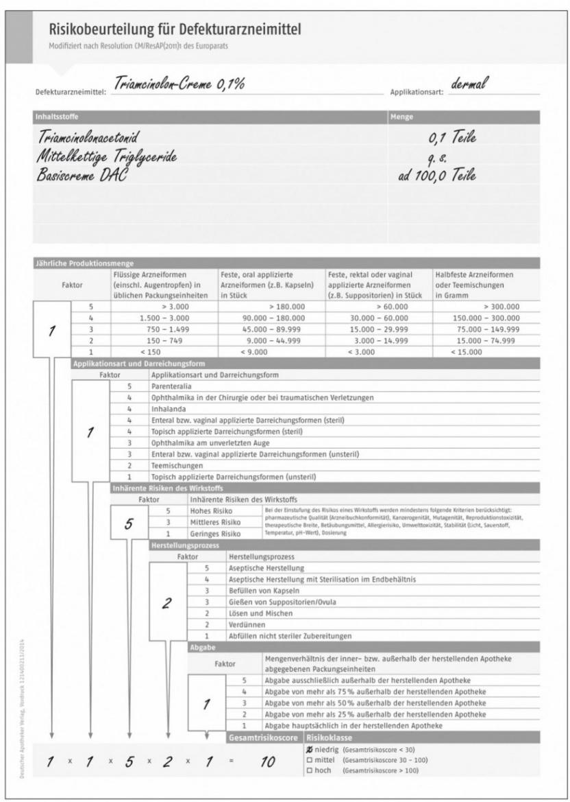 Sampler Herstellungsprotokoll Rezeptur Vorlage Excel Kostenlos
