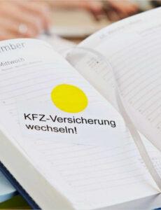 Sampler Sonderkündigungsrecht Kfz Versicherung Vorlage Word Bearbeitbar