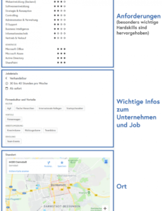 Stellenanzeige Schreiben Vorlage PDF Bearbeitbar