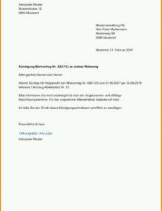Beispiel Bankkonto Kündigung Vorlage PDF