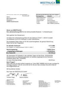 Beispiel Kündigung Stadtwerke Vorlage Doc Druckfähig