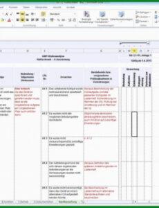Beispiel Risikoanalyse Projektmanagement Vorlage Doc Bearbeitbar