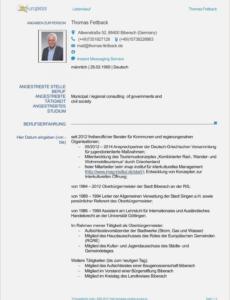 Beste Bewerbung Buchhaltung Vorlage PDF Bearbeitbar