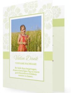 Bild Vorlage Dankeskarte Hochzeit Word