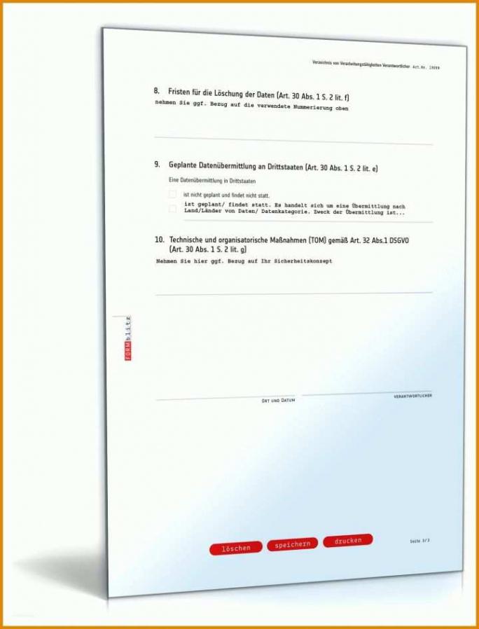 Datenschutzerklärung It Dienstleister Vorlage PDF Bearbeitbar