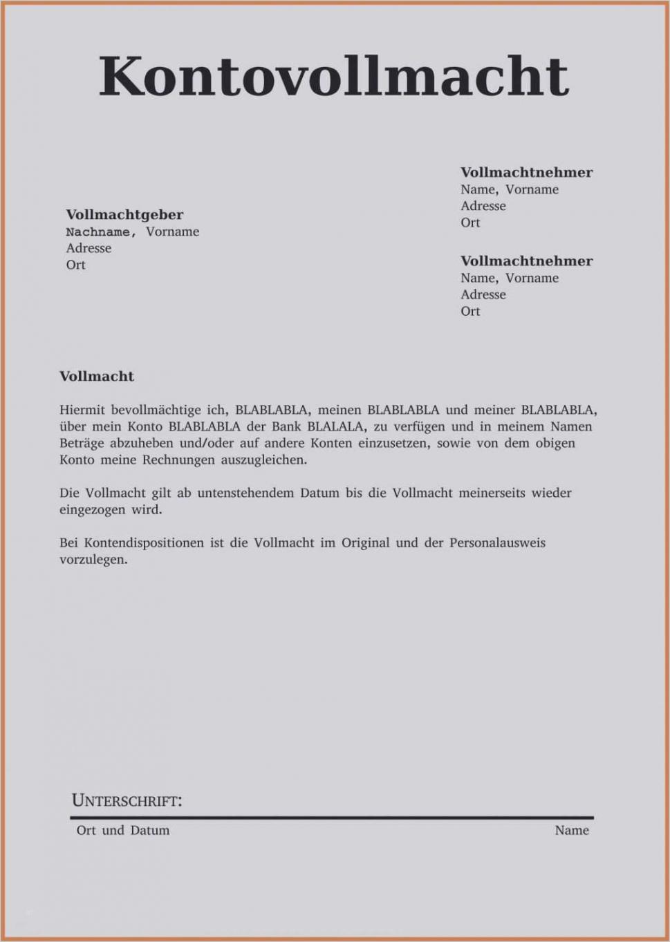 Sampler Bankkonto Kündigung Vorlage