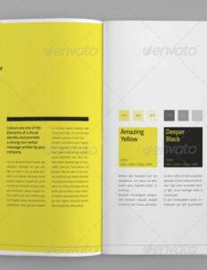 Sampler Corporate Design Manual Vorlage Word
