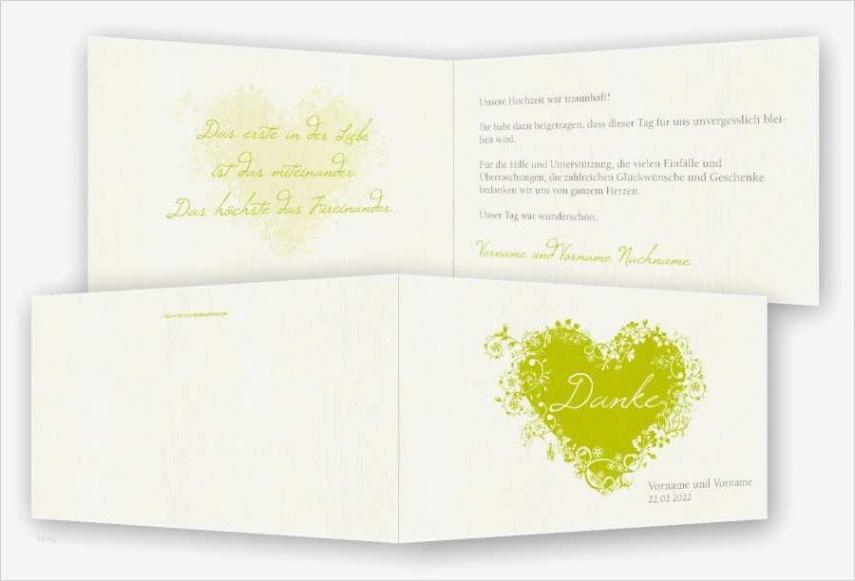 Sampler Danksagung Hochzeit Vorlage PDF Kostenlos