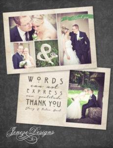 Sampler Vorlage Dankeskarte Hochzeit PDF Frei
