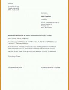 Vorlage Kündigung Haftpflichtversicherung  Bearbeitbar
