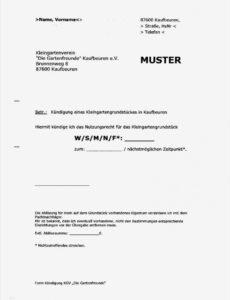 Vorlage Kündigung Haftpflichtversicherung Doc Frei
