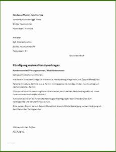Beispiel Kündigungsschreiben Kfz Versicherung Vorlage Word Bearbeitbar
