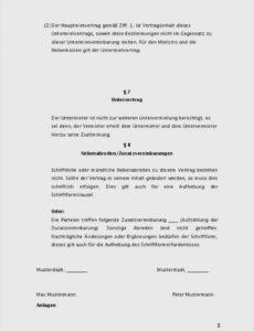 Beispiel Mietvertrag Aufnahme Weiterer Personen Vorlage Doc
