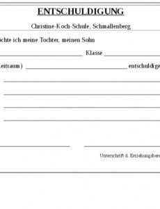 Beste Entschuldigung Für Die Unannehmlichkeiten Vorlage PDF