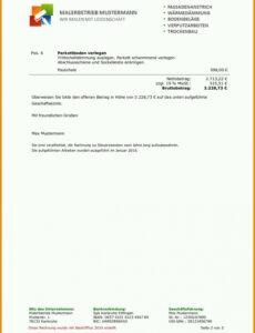 Beste Kündigung Private Krankenversicherung Vorlage PDF Bearbeitbar