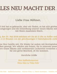 Brief An Nachbarn Wegen Renovierung Vorlage Word Bearbeitbar