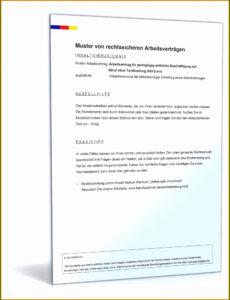 Minijob Beim Arbeitgeber Melden Vorlage PDF Druckfähig
