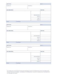 Quittung Privatverkauf Vorlage Ohne Mehrwertsteuer Excel Frei