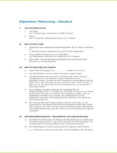 Sampler Einzug Lebenspartner-Genehmigung Vermieter Vorlage PDF Bearbeitbar
