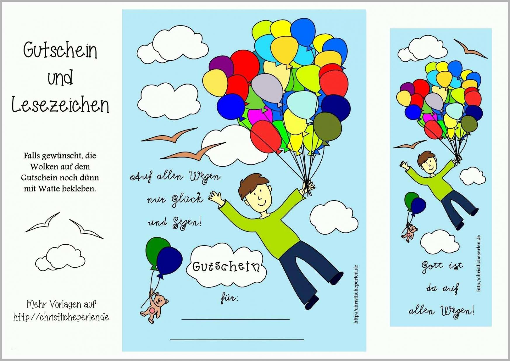 Beste Gutschein Vorlage Geburtstag Ausdrucken Kostenlos PDF Frei