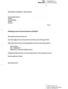 Bild 1Und1 Kündigung Vorlage Zum Ausdrucken PDF Frei