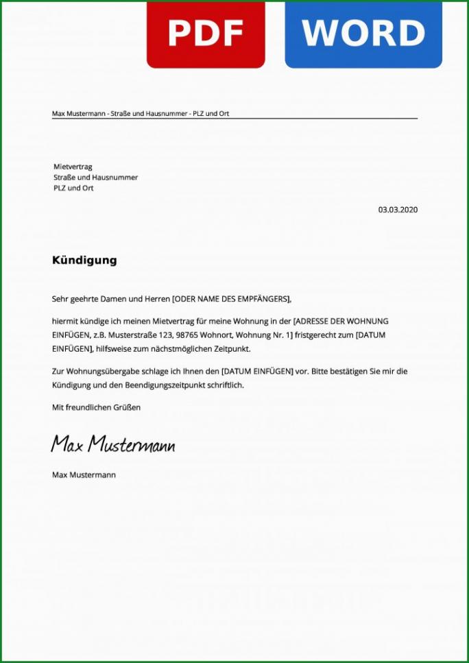 Handyvertrag Kündigen Vorlage Zum Ausdrucken Kostenlos PDF Druckfähig