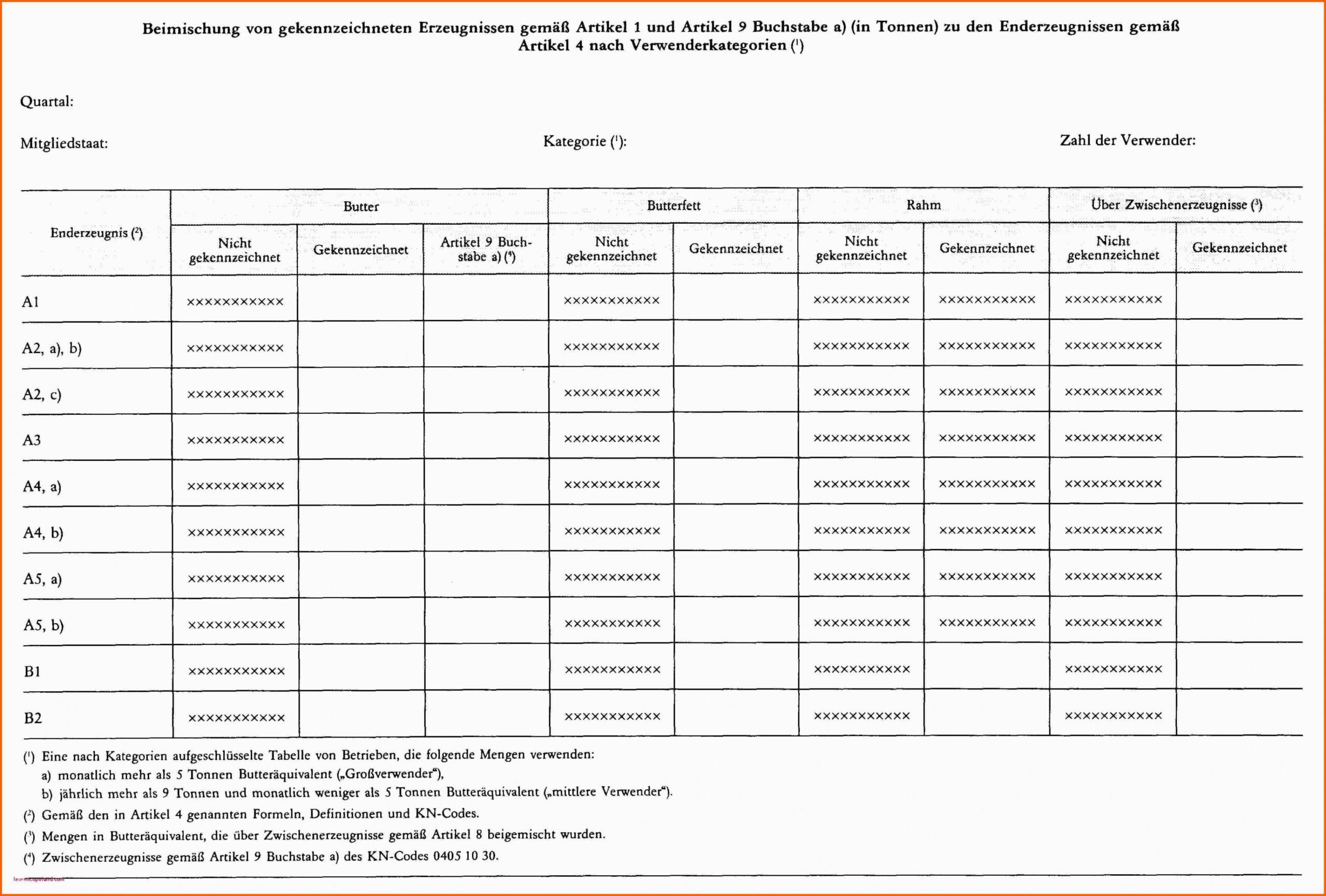 Monatliche Ausgaben Tabelle Vorlage PDF