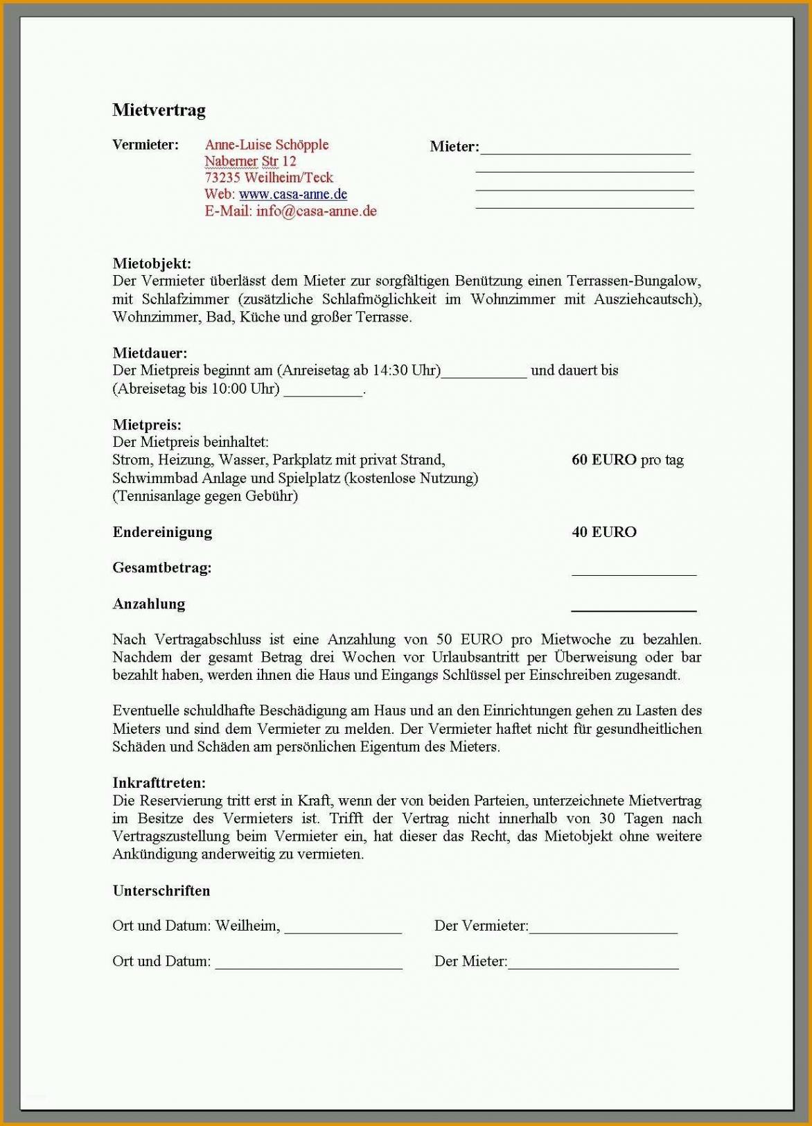 Sampler Kündigung Mietvertrag Vermieter Vorlage Kostenlos Excel Kostenlos
