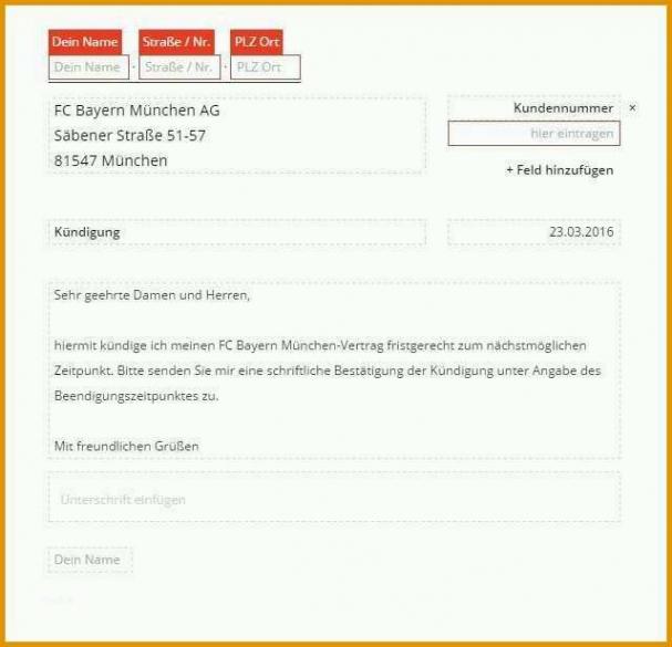 Sampler Kündigung Wegen Nicht Erbrachter Leistung Vorlage Word Frei